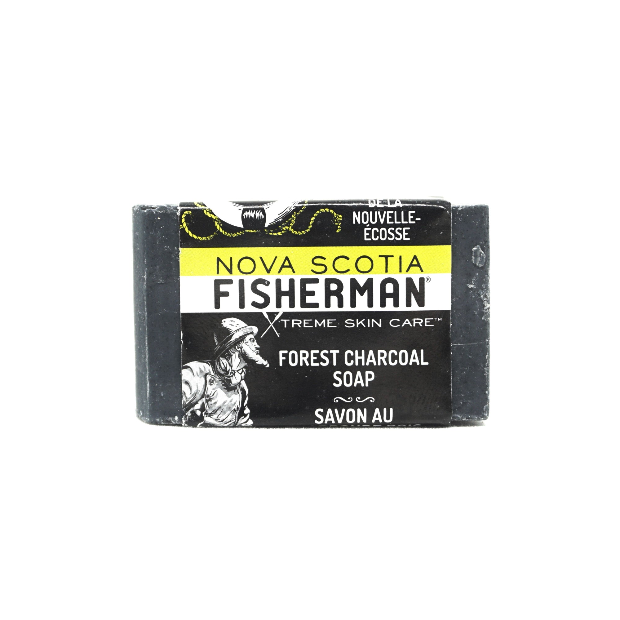 Hand & Face Soap Bar - Forest Charcoal - Nova Scotia Fisherman Sea Kelp Skincare