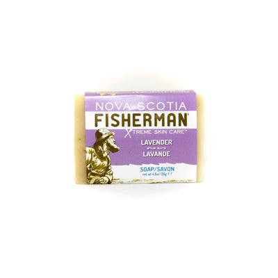 Hand & Face Soap Bar - Lavender & Shea - Nova Scotia Fisherman Sea Kelp Skincare