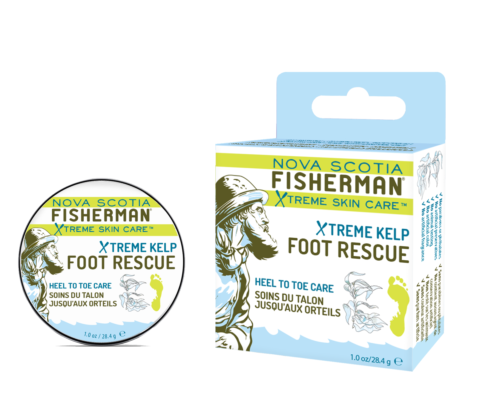New! Foot Rescue - Tin