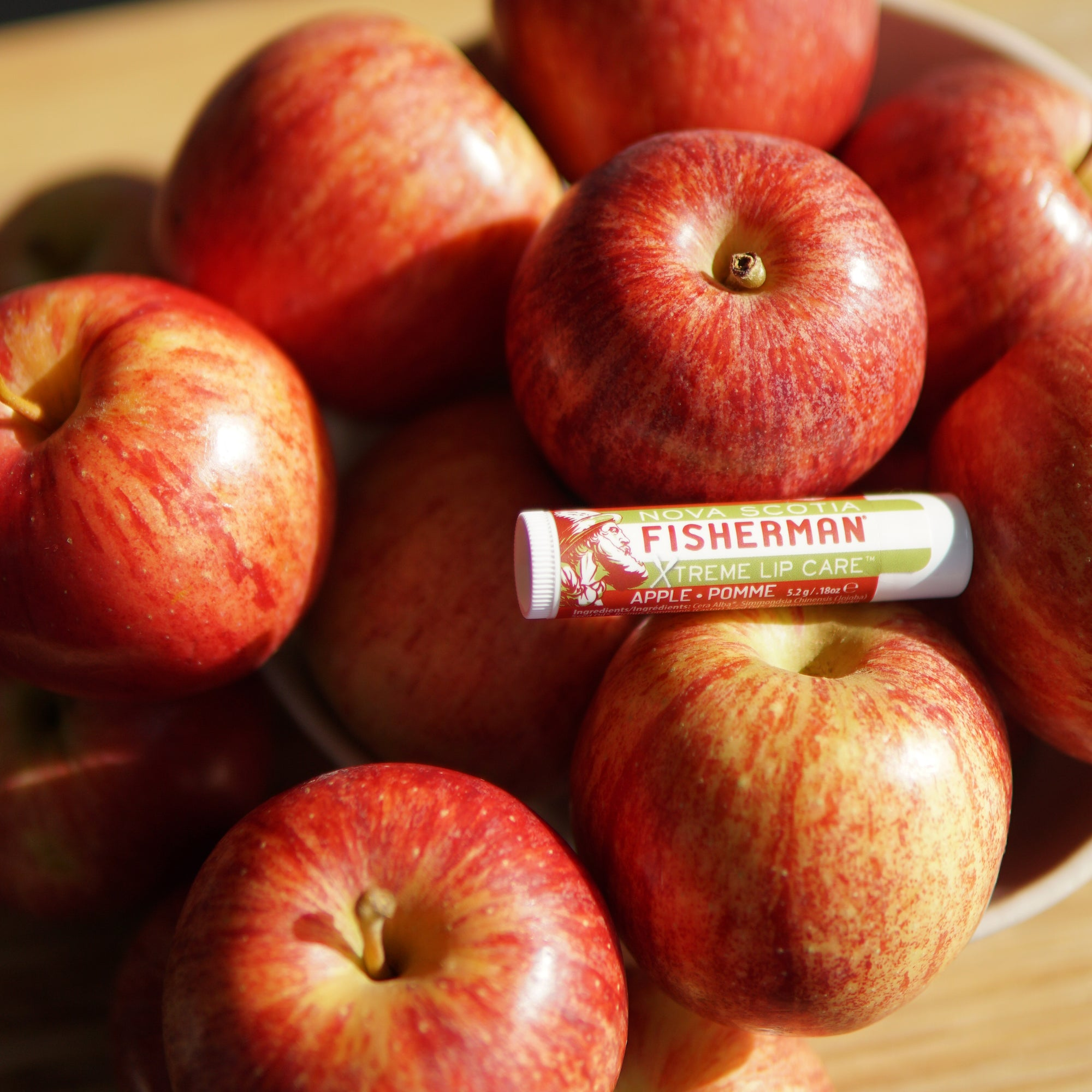 New! Two Pack Lip Balm - Apple