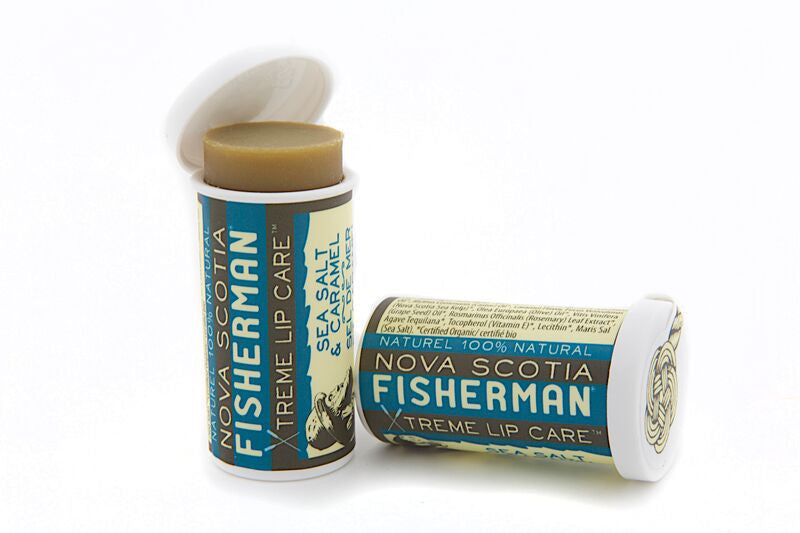 Lip Balm - Sea Salt N' Caramel - Nova Scotia Fisherman Sea Kelp Skincare