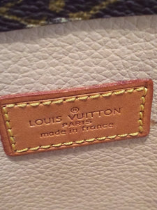 Louis Vuitton Sac Plat Leather Tote
