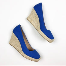 Load image into Gallery viewer, J Crew Espradrille Wedges