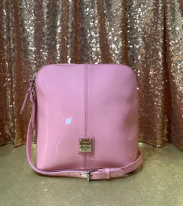 Dooney and Bourke Patent Leather Trixie Crossbody
