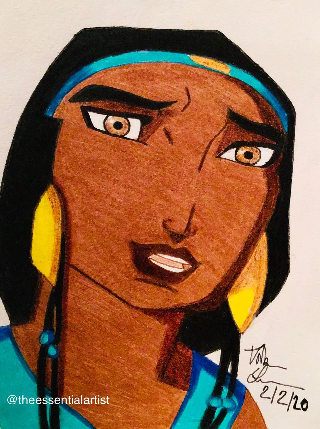 Tzipporah from the Prince of Egypt