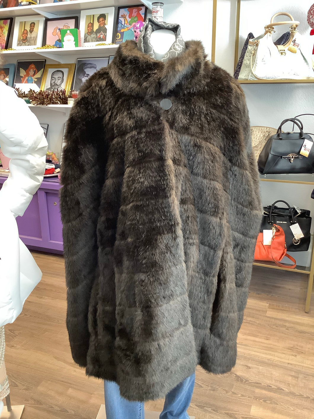 Dennis Basso Fur Cape and Jacket