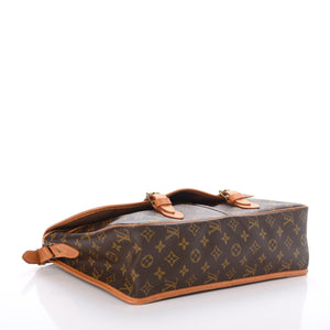 Louis Vuitton Monogram Sac Gibeciere GM Messenger Bag