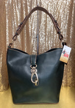 Load image into Gallery viewer, Dooney and Bourke Lock Shoulder Bag