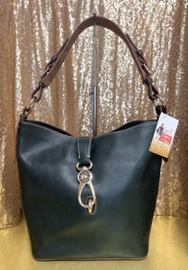 Dooney and Bourke Lock Shoulder Bag