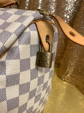 Load image into Gallery viewer, Louis Vuitton Damier Azur Speedy 30