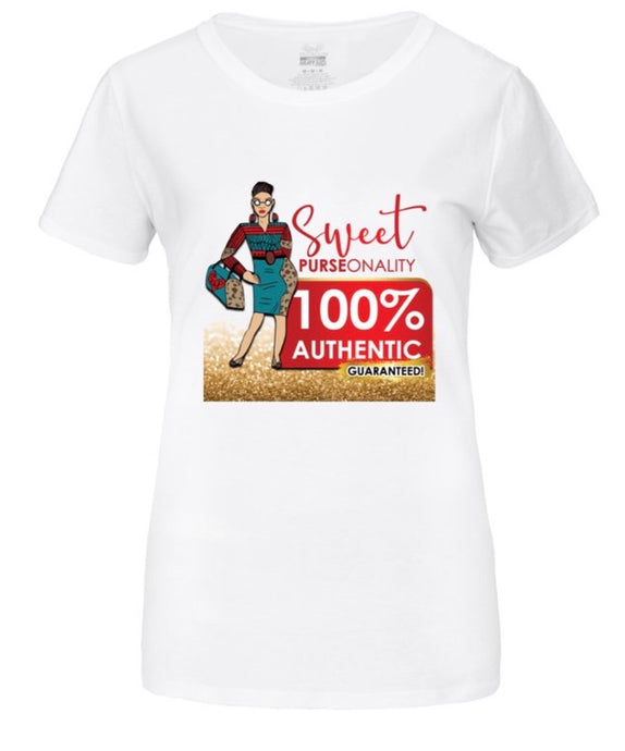 Sweet Purse Lady T Shirt
