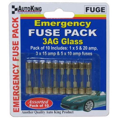Emergency Glass Fuse Pack