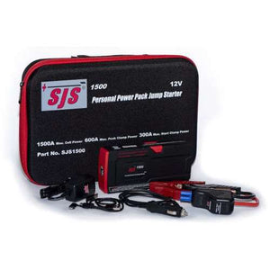 SJS 1500 (Personal power pack & jump starter)