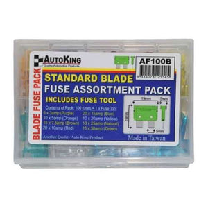 Sandard Blade Fuse Assortment Pack
