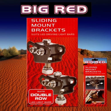 Big Red Light Bar Slider Mounts