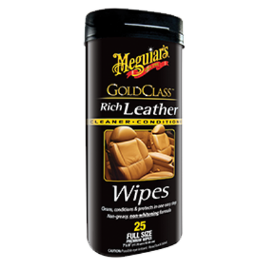 Meguiar's Rich Leather Wipes