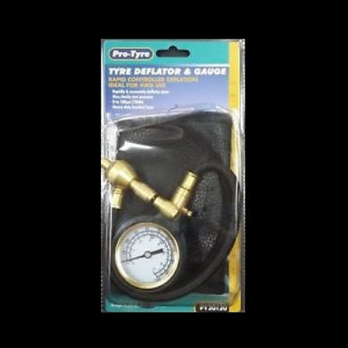 Tyre Deflator and Gauge