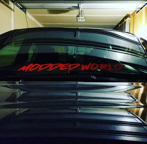 MODDEDWORLD - LOWER WINDSHIELD BANNER