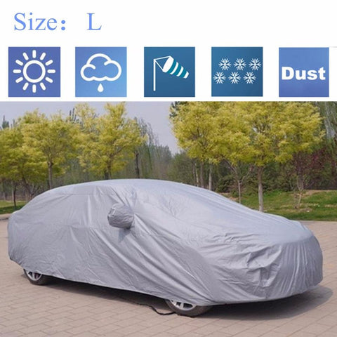 full car cover outdoors essential new car accessories