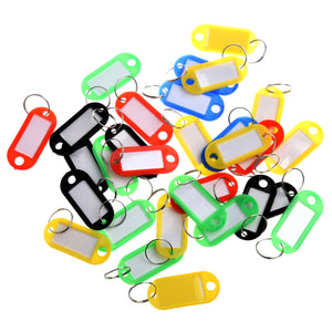 Custom Plastic Key Tags Bulk (30 Pcs) Keychains Key rings Car Keychains New Car Gadgets