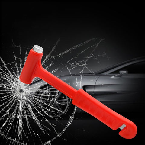 Car Emergency Hammer Window Breaker and Seatbelt Cutter