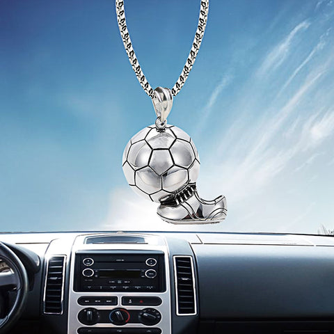 Football Car Mirror Pendant
