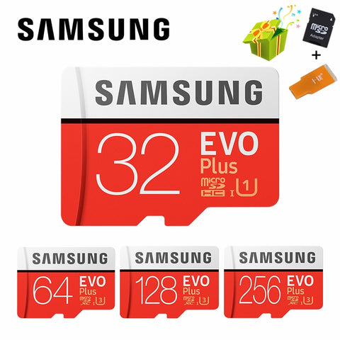SAMSUNG Evo Plus Micro sd Card Class 10 SDXC Grade Memory Card Micro SD Cards New Car Gadgets