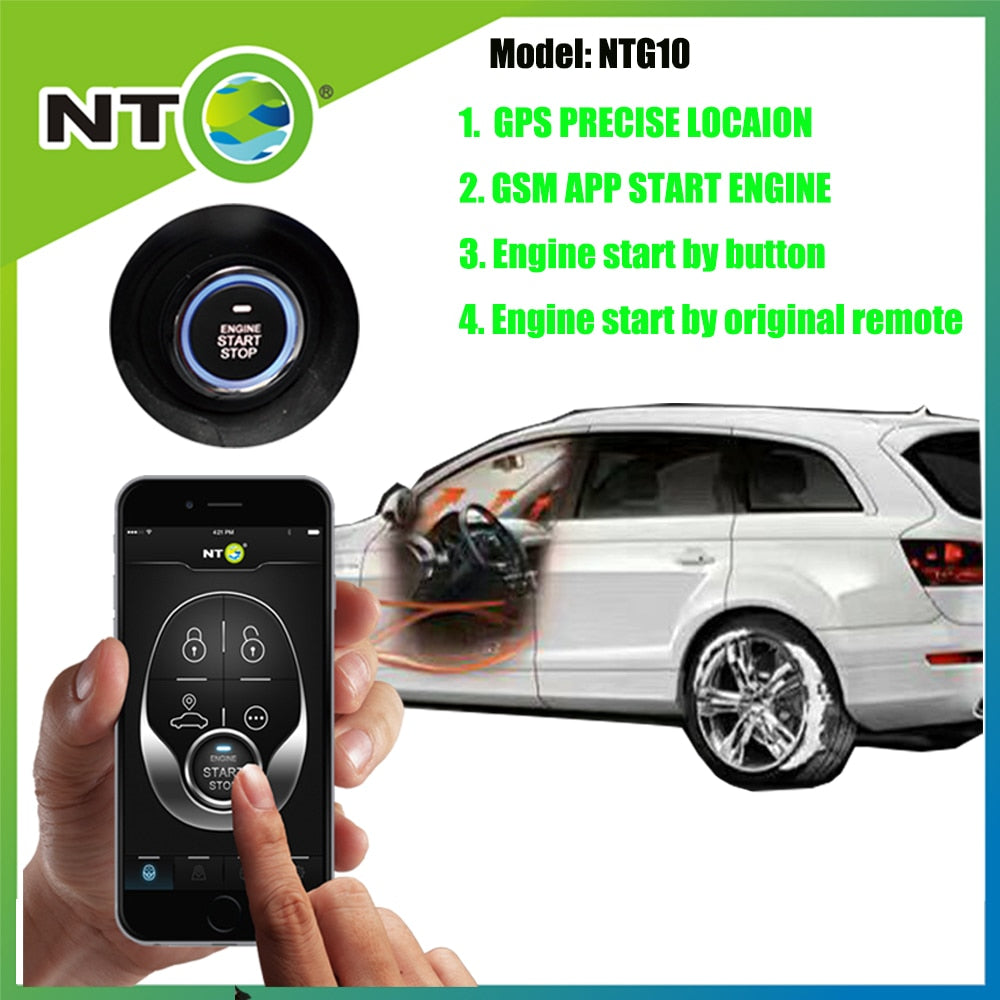 Gps Car Tracker >> Car Remote Starter Gps Car Tracker By Mobile App