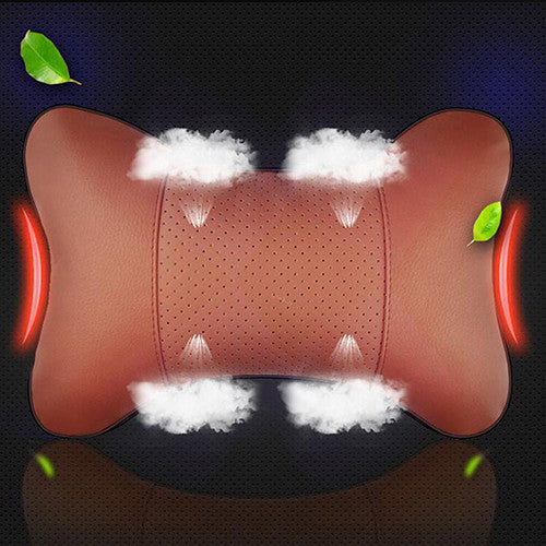 Enhanced Cotton Leather Car Headrest Cushion Car Seat Covers New Car Gadgets