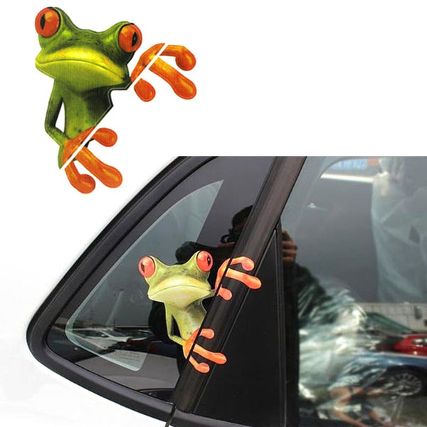 New Frog Funny Car Stickers Decals Car Stickers Decals New Car Gadgets