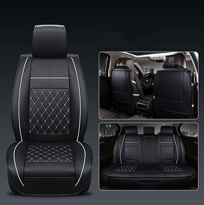 Enhanced PU Leather Car Seat Covers - New Car Seat Covers New Car Gadgets