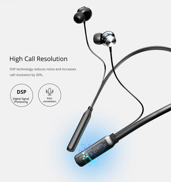 Waterproof Car Bluetooth Earphone Headphones Magnetic Hifi Stereo with Mic Car Bluetooth Gadgets New Car Gadgets