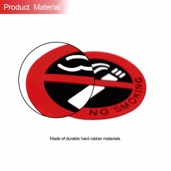 No Smoking Sign Car Sticker Window Decal Car Stickers Decals New Car Gadgets
