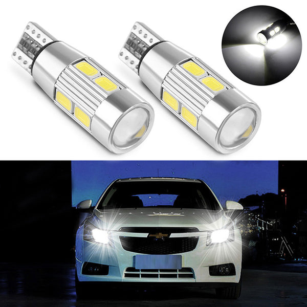 2PCS Car Auto LED T10 car external lighting New Car Gadgets