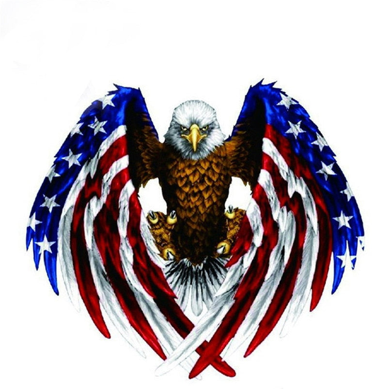New American Eagle Car Sticker Decal Car Stickers Decals New Car Gadgets