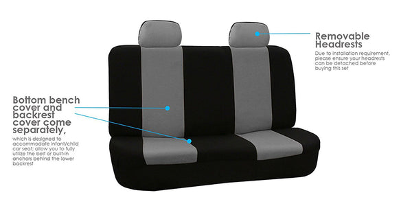 Universal Car Seat Covers Different Colors Durable Material Car Seat Covers New Car Gadgets