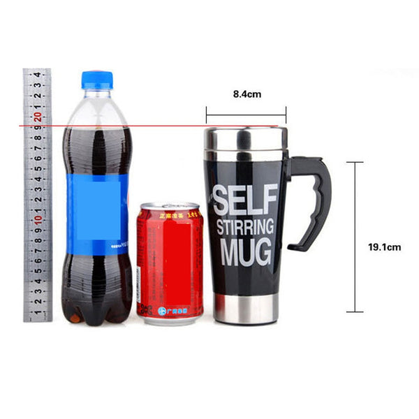 The Famous Self Stirring Car Coffee Mugs car coffee mugs New Car Gadgets