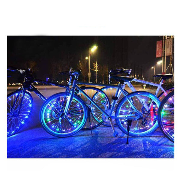 Waterproof Car or Bike Wheels Lighting LED Wire Flashing Safety Lights Car Light Bulbs New Car Gadgets