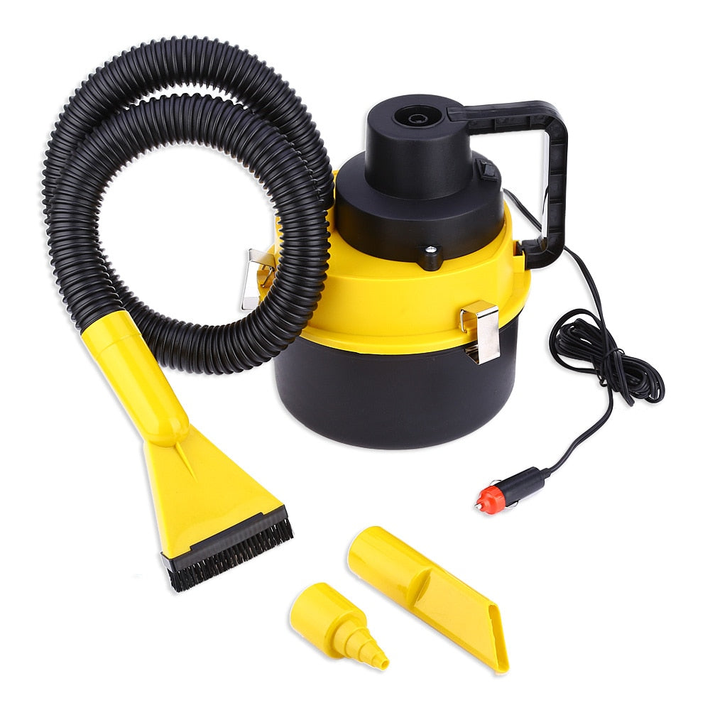 Car Vacuum Cleaner with Multiple Heads Car Cleaning Gadgets New Car Gadgets