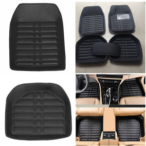 Semi Leather Car Floor Mats Waterproof Anti Skid Car Floor Mats New Car Gadgets