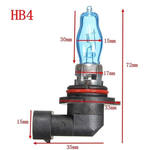 2 Pcs Halogen Bulb 12V 100W Xenon Car Headlights Bulbs car external lighting New Car Gadgets