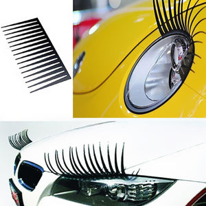 2Pcs Eyebrows Car Sticker Car Stickers Decals New Car Gadgets