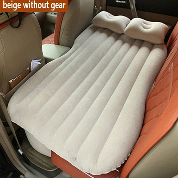 Car Inflatable Mattress Car Camping Bed Travel Bed (High Quality) Camping Car Gadgets Accessories New Car Gadgets