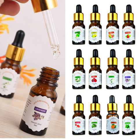 Concentrated Natural Plant Essential Oil Air Freshener Bottle (High Quality) Car Air Fresheners New Car Gadgets