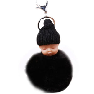 Sleeping Baby Keychain Car Keychains New Car Gadgets