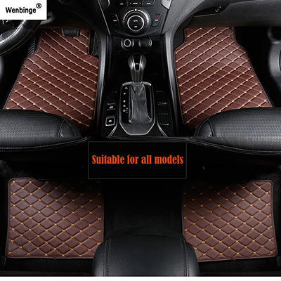 Elegant Car Floor Mats Water Resistant Surface Car Floor Mats New Car Gadgets