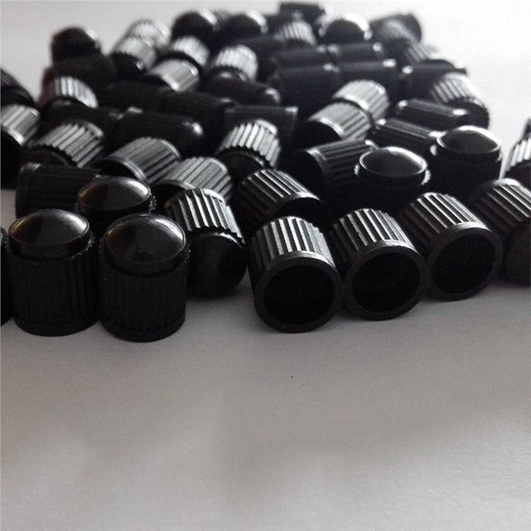 Normal Plastic Car Tire Valve Stem Caps ( 20 Pcs ) Car Wheels Valve Covers New Car Gadgets