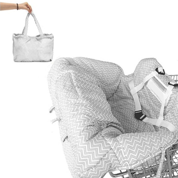 Shopping Cart Baby Seat Cardle Cotton Padded Kids Car Seats New Car Gadgets