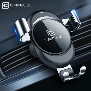 Car Phone Holder stand Gravity Automatic Locking Technology Car Phone Holders New Car Gadgets