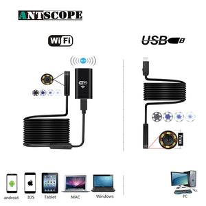 Long upto 15 meters Wifi Camera Endoscope for Car Maintenance Car Maintenance Tools New Car Gadgets